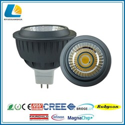 Factory led spotlight price , 5w gu10 cob led spotlight with 3 years Warranty