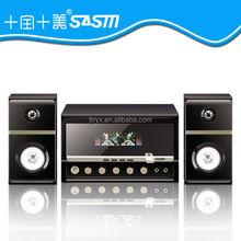 with usb fm mp3 hifi micro multimedia 2.1 active computer speaker