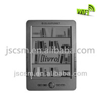 6inch e ink ebook reader wifi 16 level gray,Rockchip 2818 Dure Core ARM9,touch screen ,800*600 resolution made in shenzhen