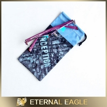 cell phone bag for promotion, fancy mobile pouches for girls, folding glasses pouch