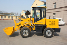 new 1.5 ton front end wheel loader with optional working device:log clamp/grass fork