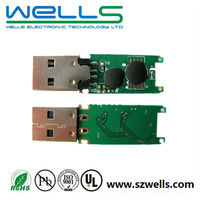 Printed Circuit Board / FR4 USB flash drive CircuitBoard Assembly/PCBA Factory