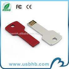 Capacidad real de China fabricante clave unidad flash usb de metal