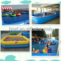 HOT Giant Inflatable Pool for Water balls and boats/Giant Inflatable swimming pool