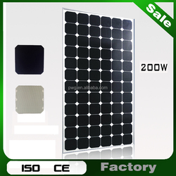 Best Price Per Watt PV Solar Panels 200w For Solar Panel System