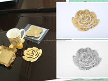 5pcs plastic pvc Coaster Mug Bowl Big Cup Cushion Holder Drink Placement Mat