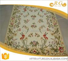 mosque custom fashion soft 100% wool hand woven rugs