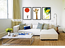 Latest bright color modern abstract painting for sale