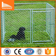 China high quality dog kennel wholesale/ cheap chain link dog kennels/ iron fence dog kennel