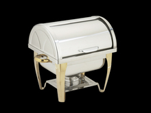 New design square metal Buffet stoves with holder