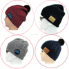 high quality custom bluetooth beanie hat with factory price wholesale
