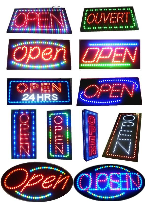 новые светодиодные неоновые анимированные висит кофе кафе розничной открытого магазина магазина знак мигающий