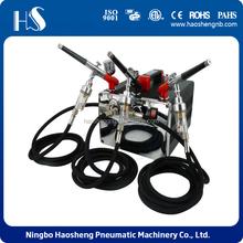 haosheng HS-218K mini air compressor with pressure gauge