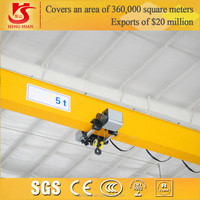 China Workshop Use 5 ton Overhead Crane From Manufacturing Company