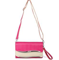 New arrival pu leather candy color modern lady trendy messenger women bags