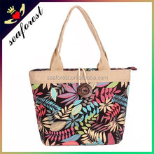 classical style jumbo cotton canvas tote bag