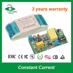 High quality led transformer constant current for led light 12w led driver 350ma