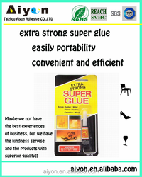 100%CA super glue for industrial or home use,quick bond cyanoacrylate super adhesive