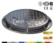 Zibo BEST Composite Resin SMC C250 R600 Manhole Cover