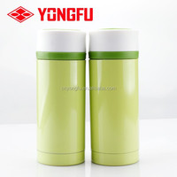 Flat stainless steel joyshaker water bottle