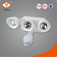 North America 36W Triple Heads Energy Saving Sensor Light