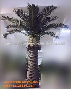 Las ventasfecha palmeras/decorativas artificiales falsos en interiores y al aire libre canarias fecha palm tree hecho en china