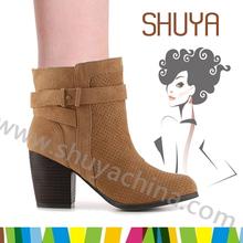 Wholesale women fashion shoes high heel boots tube