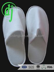 dispoable airline slipper /100% cotton terry towel shoe slippers for men/women