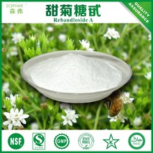 healthy herbal sugar substitute Stevia (Stevioside, Rebaudioside A)