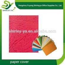 Diferentes tipos de papel encuadernación cubierta