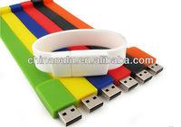 Silicon Wristband Flash Drive USB Bracelet
