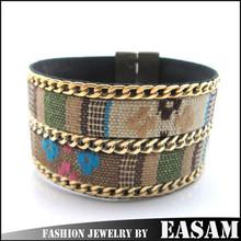 coin braided bracelet,bohemia bracelet, jade tag on bracelet