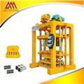 Qtj4-40 semi automática máquina para fazer blocos interligados no quênia