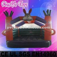 Rabbit and radish inflatable bouncer