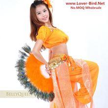 10 colores personalizados favores de la fiesta de danza de vientre del ventilador velo para mujer abanicos