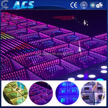 rgb mixing dance floor/mirror led dance floor/led floor for disco 3d floor
