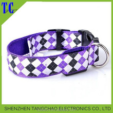 Pet product Colorful Ultra Bright LED Flashing Puppy Collar led dog collar