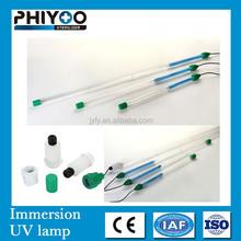80W single end 4 pin quartz uv sterilization lamp for water treatment