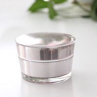 15ml 30ml 50ml 75ml cone acrylic container for cosmetics for gel