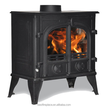 Classic Cast Iron Wood Fireplace
