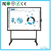 "Hot sale 80 "" diagonal electronic interactive tv touch screen smart class whiteboard self balance smart board for sale"