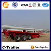 40ft flatbed container semi trailer container twist lock