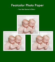 Factory direclty double face rc inkjet printing photo paper