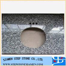 China Spray White Granite Vanity Top,Sea Wave Granite Countertop