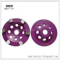 Sharpen arrow segmented diamond cup wheels for grinders