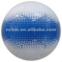 Size1 PVC/PU durable, machine-stitched construction football