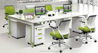 high evaluation modern design office cubicle workstation