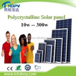 Solar panel system , Solar kit , Solar power system use use 100W 200W 250W 300W 12V Poly Solar Panel price