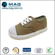 Top quality antique black canvas shoes guangzhou