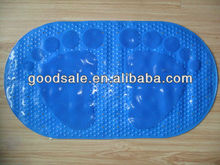 PVC Bathroom Tub Mat PawDesign Thick Anti Skid Suction Mat Non-Slip Bathtub